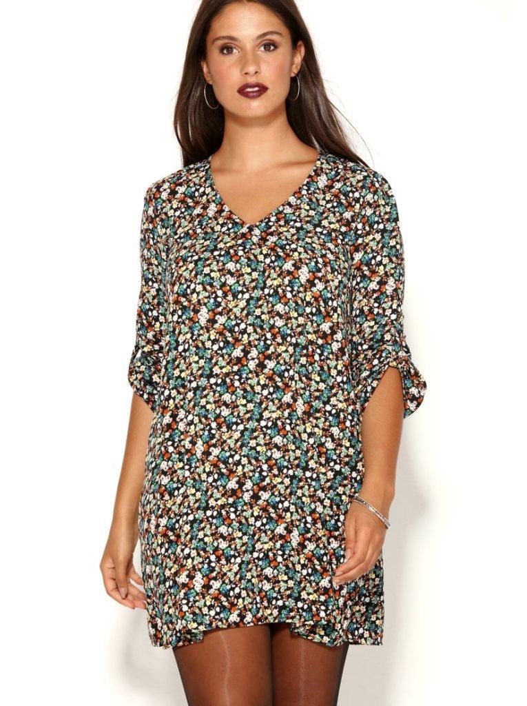 1fad3a52b2 Estos  vestidos estampado son preciosos y los puedes encontrar a partir de  la talla L… es decir están en L